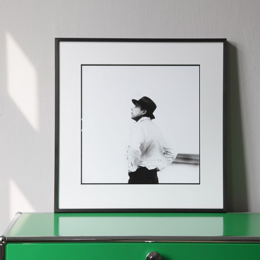 """Joseph Beuys II, aus der Serie """"Lothar Wolleh und Joseph Beuys 1971"""""""
