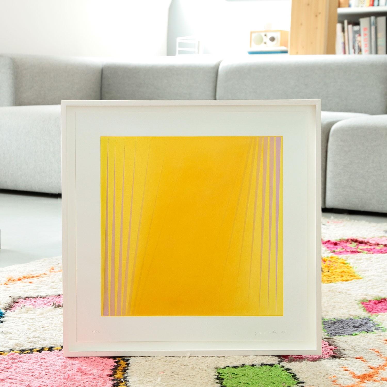 Lothar Quinte Ohne Titel 1962 Farbserigrafie Handsigniert Nummeriert Datiert Kaufen