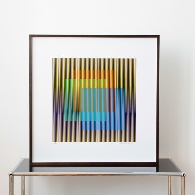 Carlos Cruz-Diez, Couleur Additive 2