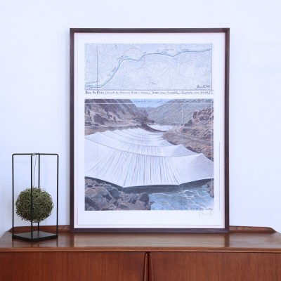 Christo & Jeanne-Claude, Over the River I (Above)