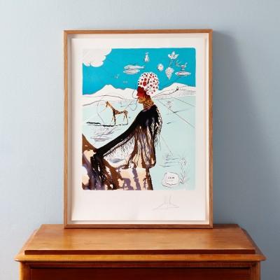 Salvador Dalí, The Earth Godess - The Chef