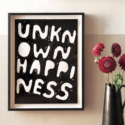 Stefan Marx, Unknown Happiness