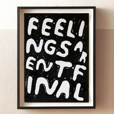 Stefan Marx, Feelings aren't final
