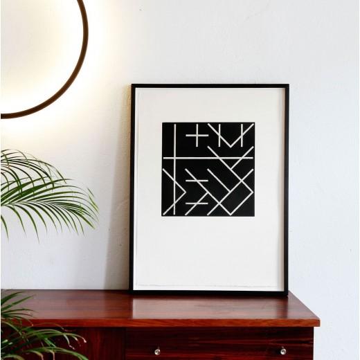 Dieter Kleintje, 12 Zweierkombinationen d. vier Bewegungsrichtingen: Vertikale, Horizontale, fallende u. steigende Diagonale