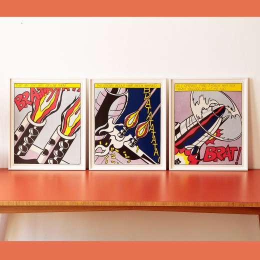Roy Lichtenstein, As I Opened the Fire