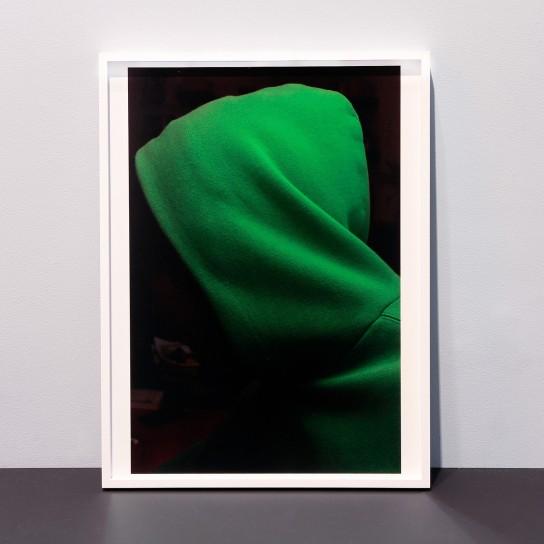 Paul Hutchinson, Hoodie, green glow